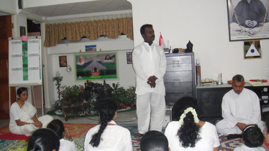14 Mei Ganaselvar Saravanan Sharing his Experience and Value of Meditation