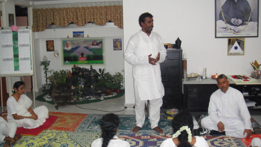 18 Mei Ganaselvar Ramesh Sharing his Experience and Value of Meditation