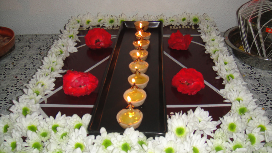 7 Astha Deepam Lights
