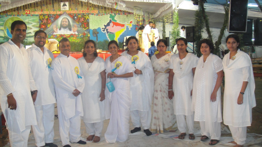 25 Divine Disciples from India Canada and Singapore
