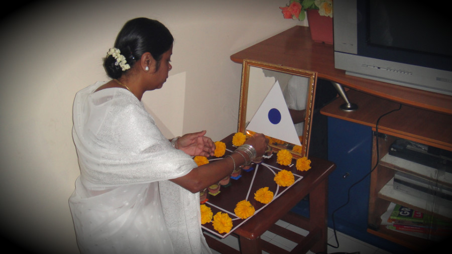 1 Light Up Astha Deepam by MA Sundra Ammal