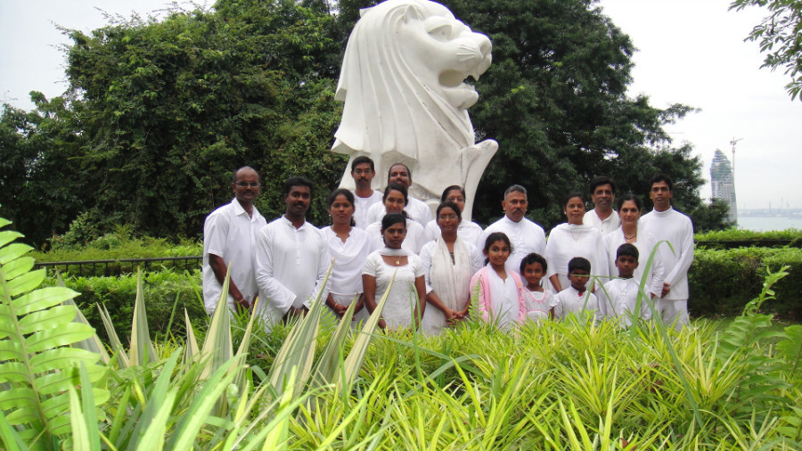 11 Divine Souls with Merlion Statue